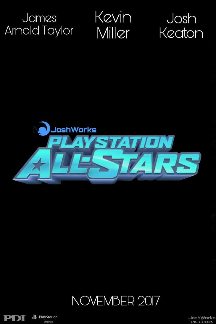 Playstation All Stars - Teaser Poster by JoshInkling1999