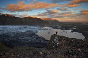 The Explorer - Skaftafell by matthieu-parmentier