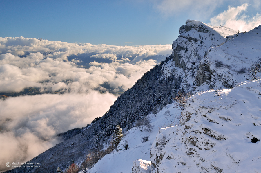 Above the clouds by matthieu-parmentier