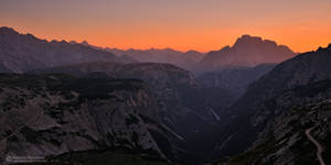 Dolomiti twilight