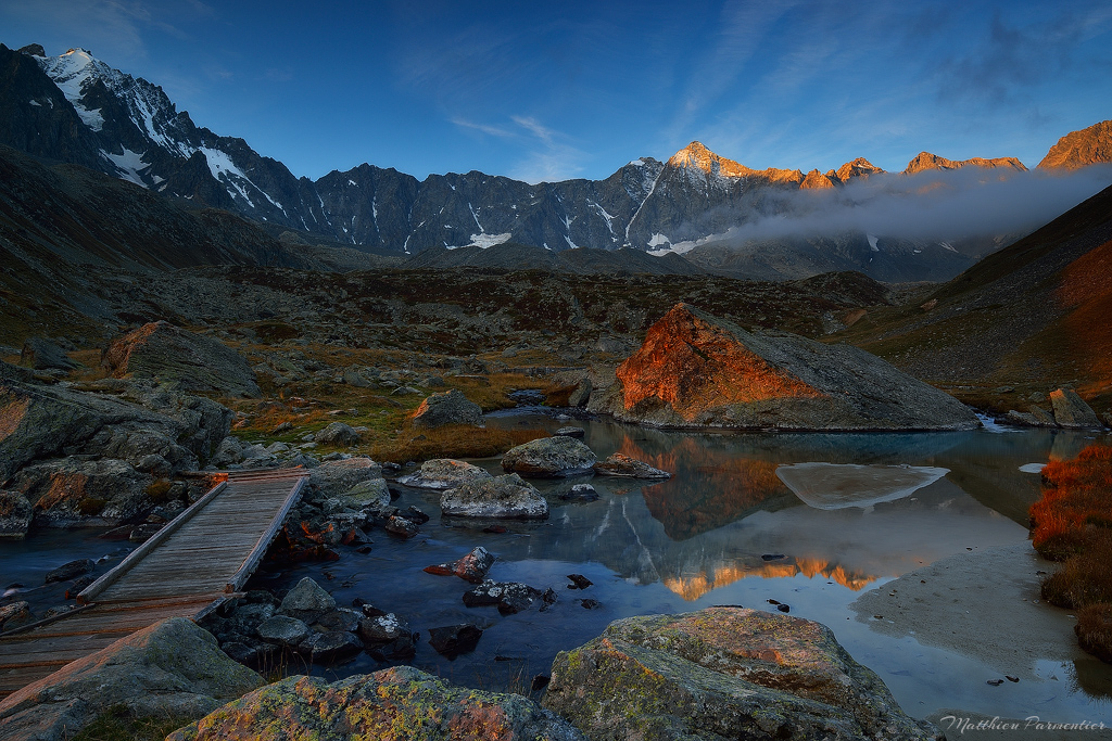 Autumn light by matthieu-parmentier