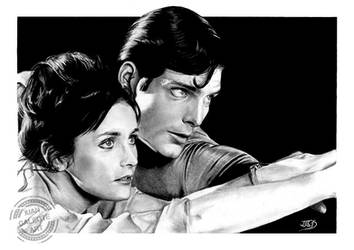 Lois and Superman by JuanGaleote