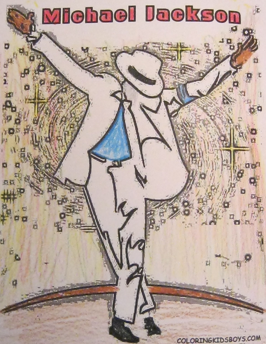 michael jackson smooth criminal coloring pages - michael jackson coloring page smooth criminal by