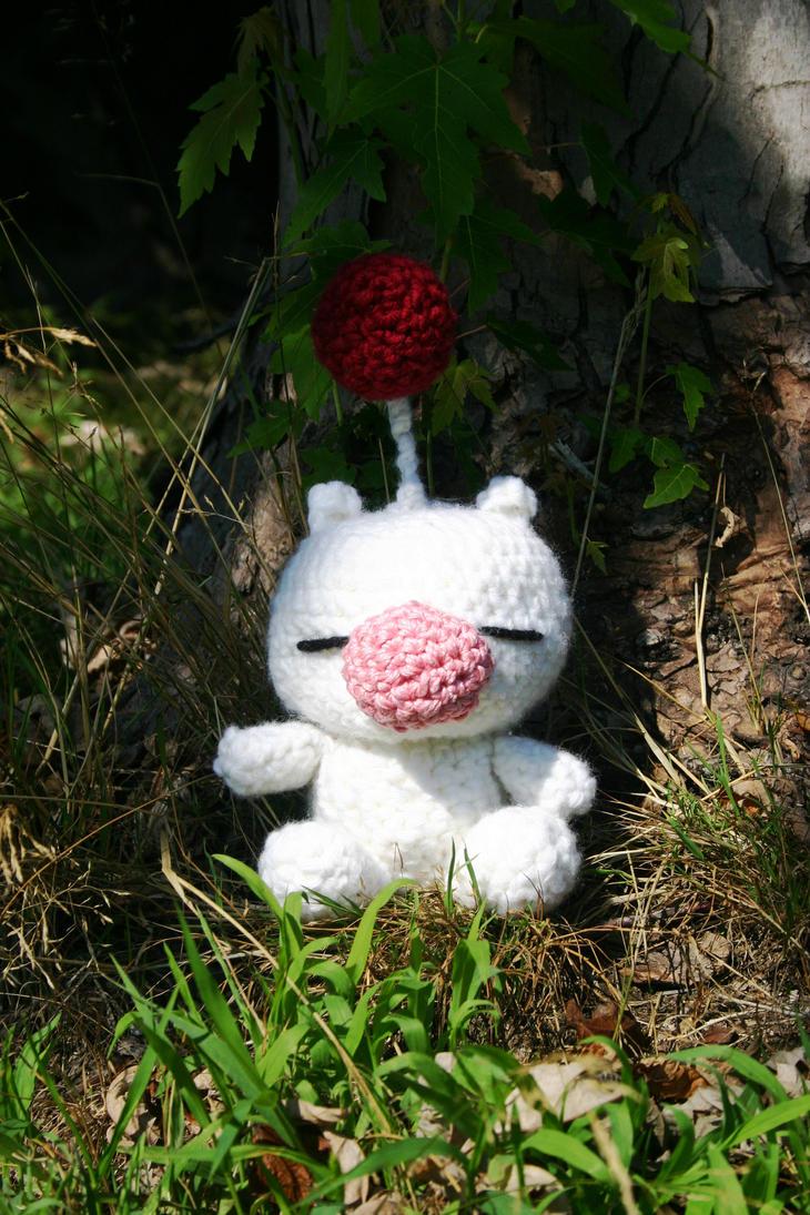Final Fantasy Moguri Amigurumi by amiguGEEK