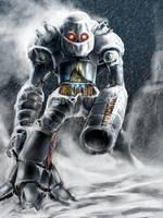 Snowbot by BonnySaintANdrew