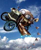 Steampunk Jalopy by BonnySaintANdrew