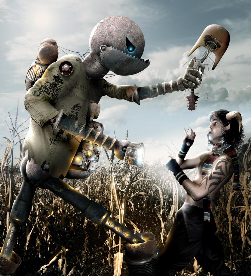 Scarecrow by BonnySaintANdrew