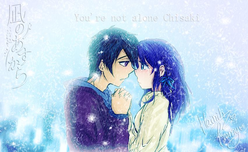 .:Not alone - Tsusaki:. by Ciomy