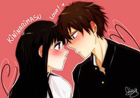 .:Kininarimasu for you! - Hyouka:. by xiomicchi