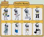 PKMN Crossing Outfit Meme
