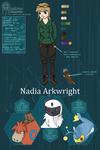 PDL: Nadia Arkwright
