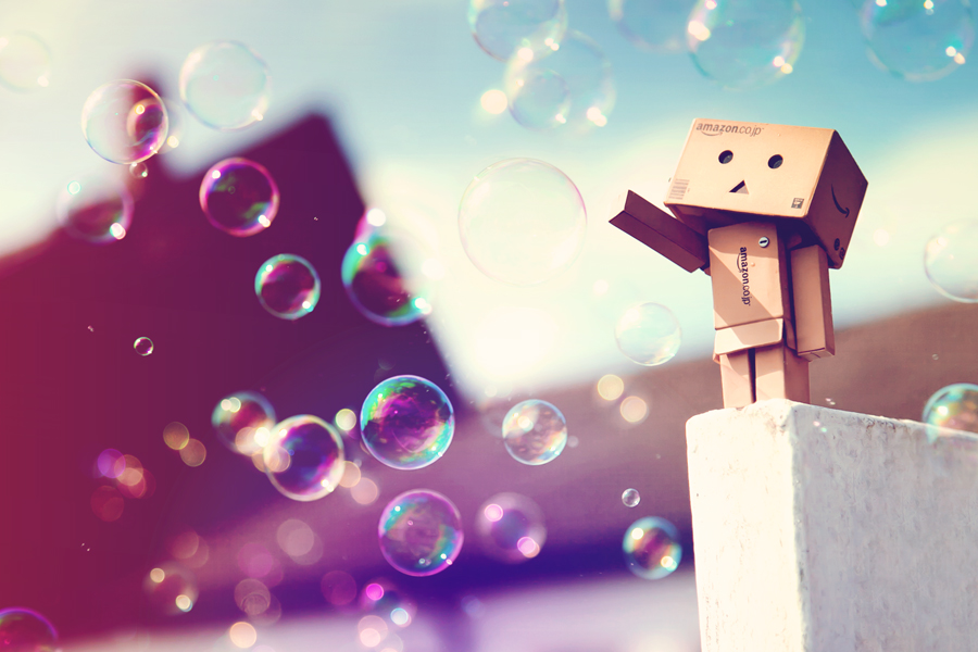Bubbly Day by *BatDesignz