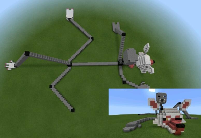 Minecraft fanf - #fnaf | Nova Skin - Minecraft Skin Editor