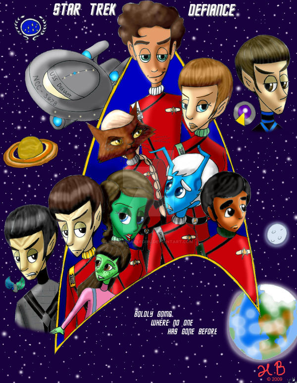 STAR TREK: DEFIANCE cover by MoodyBeatleGirl