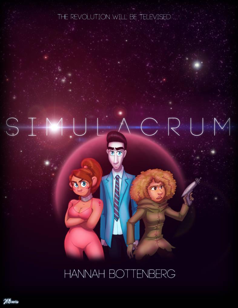 S I M U L A C R U M - COMIC - cover