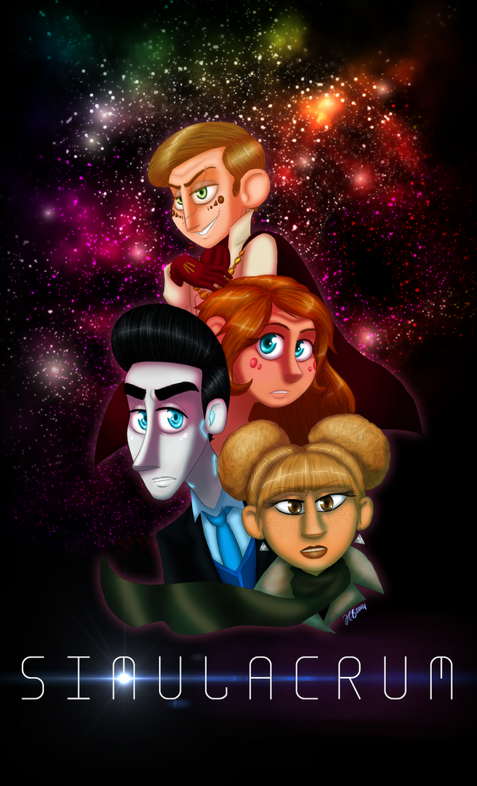 S-Comic: Poster - Into the Galaxy by MoodyBeatleGirl