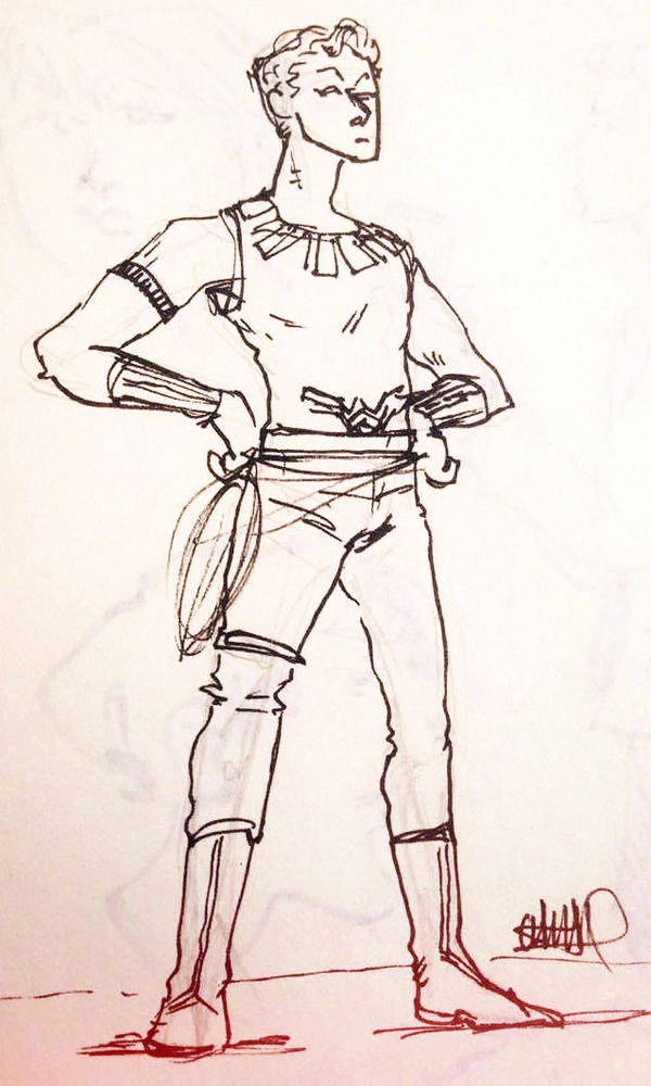 Wonder Man by Cuavia2