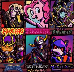 Six Fan Arts