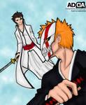 Ichigo vs Aizen