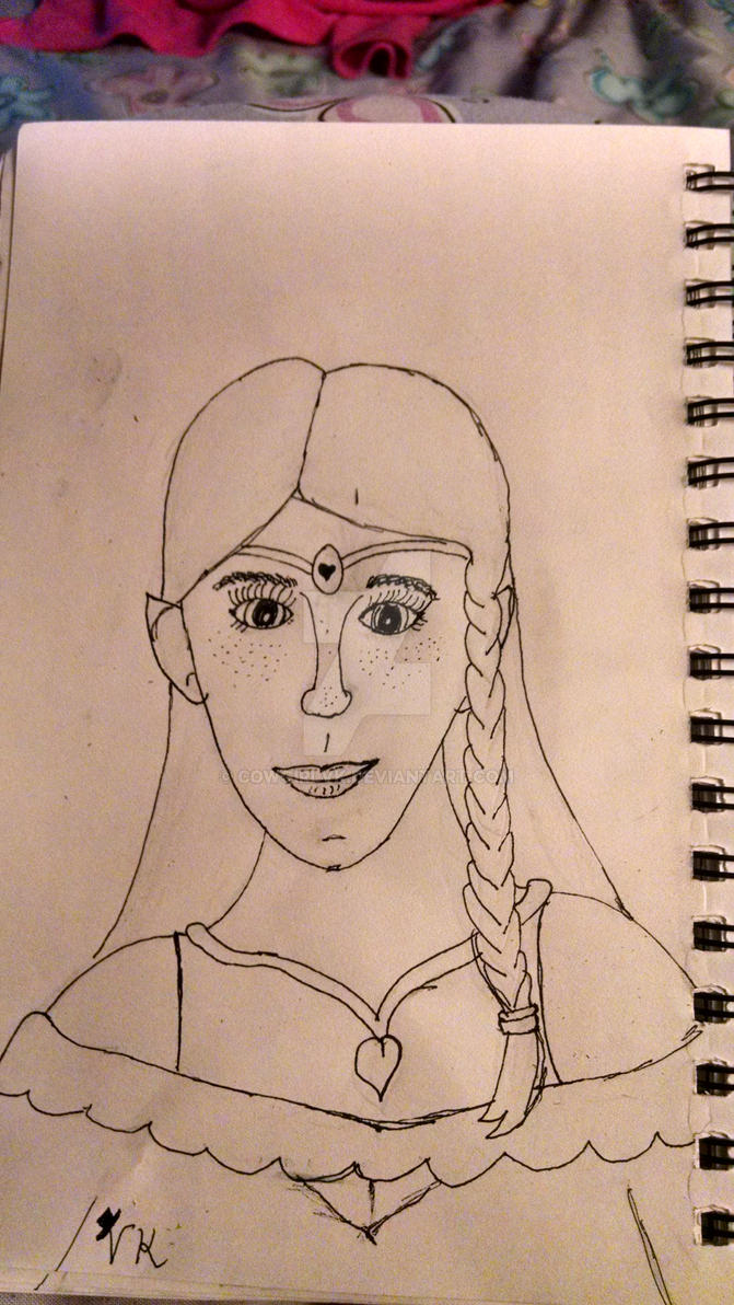 Elf girl by CowgirlVK