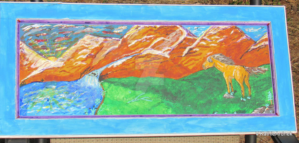 Rocky Mountain Buckskin by CowgirlVK