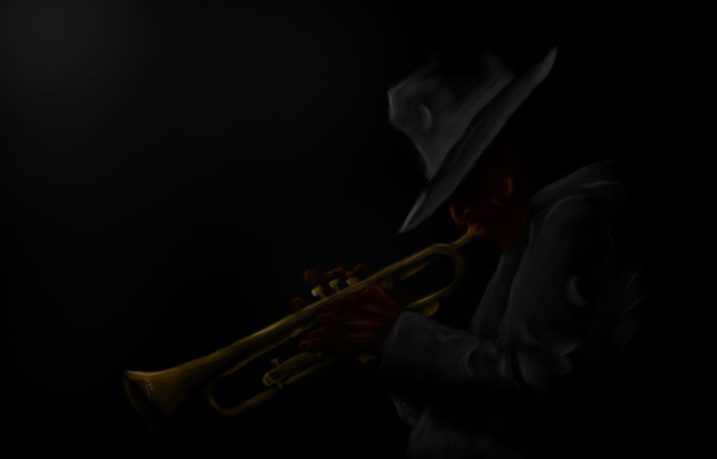 Trumpet wallpaper by Ama-Lemuria on