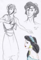 AlJas sketchiness by Rosanna