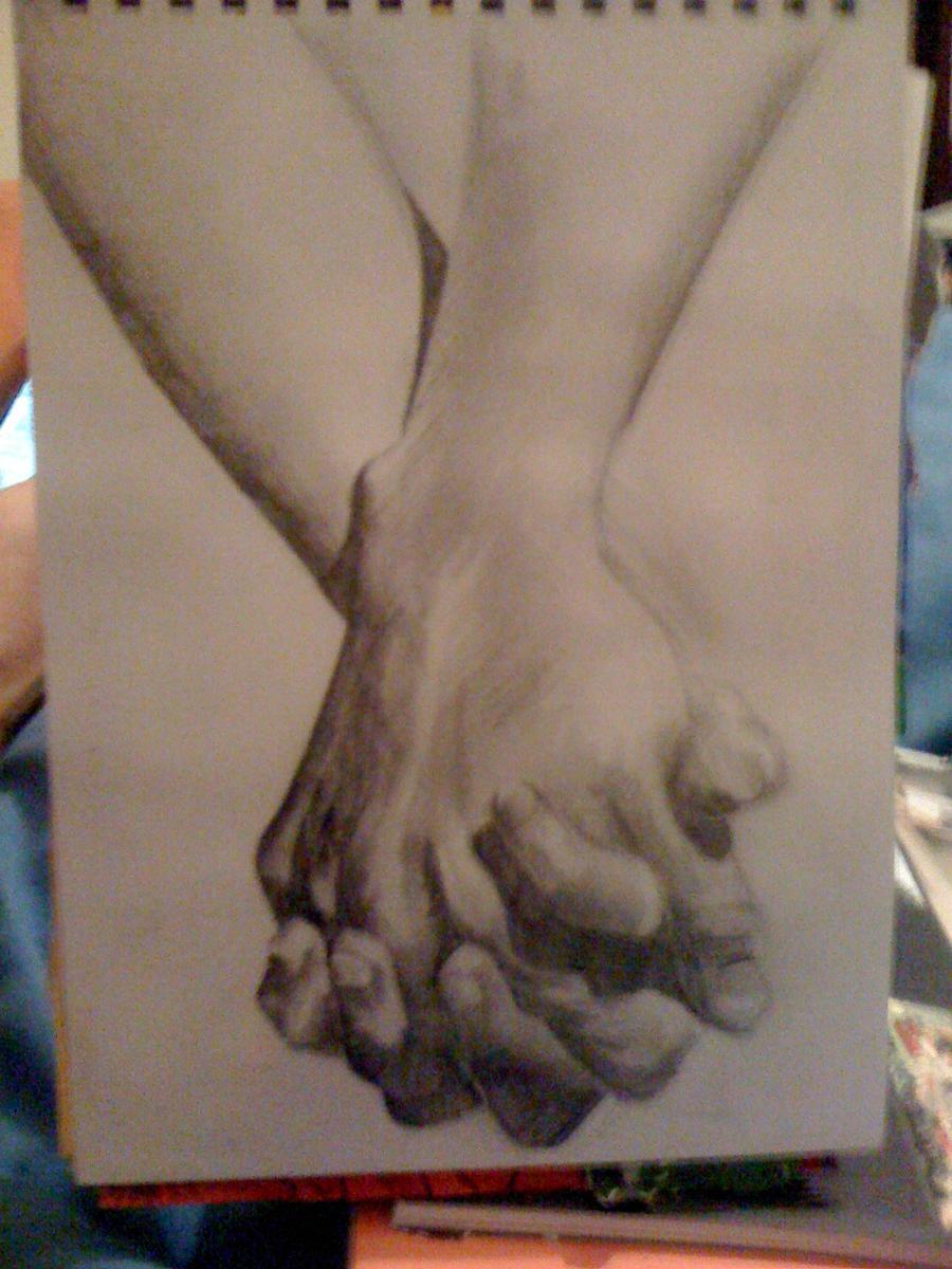 revy two hands wallpaper