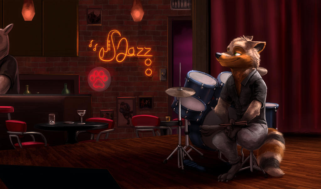 Jazzing at the Jazzoo - by Temiree by DrummerMax64