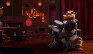 Jazzing at the Jazzoo - by Temiree