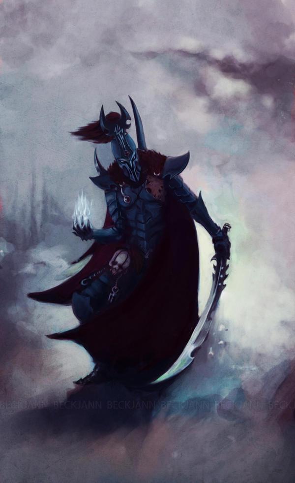 Dark Eldar Archon by Beckjann