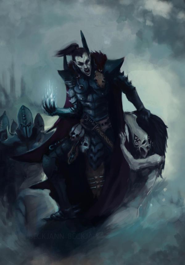 Dark Eldar: Archon Arnaer by Beckjann