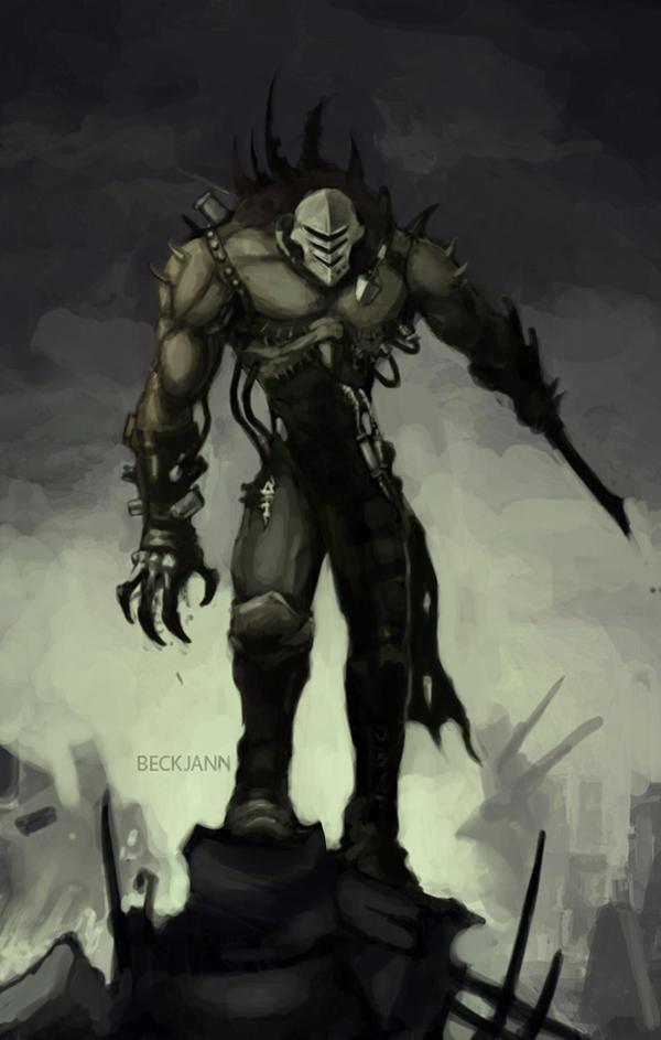 Dark Eldar Grotesque by Beckjann