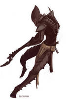 Dark Eldar Kabalite Warrior 2 by Beckjann