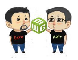 Dave and Matthew