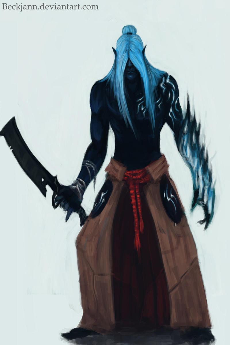 Dark Eldar: Mandrake 2 by Beckjann