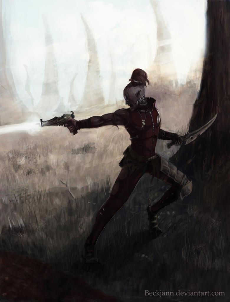Dark Eldar: Reconnaissance by Beckjann