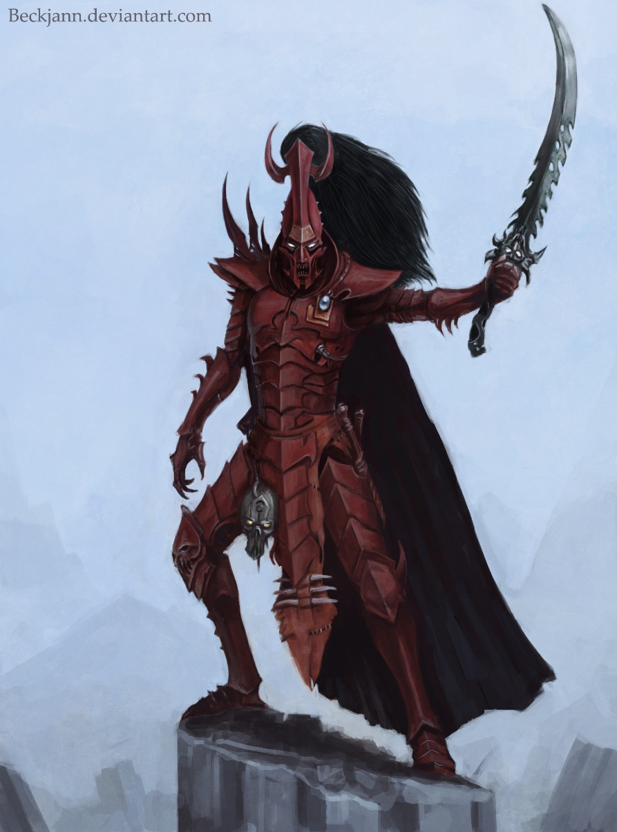 Dark Eldar: Archon Fiendred by Beckjann
