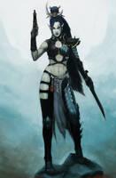 Dark Eldar: Shyntafae by Beckjann