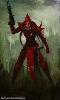 Dark Eldar: I'll burn it all by Beckjann