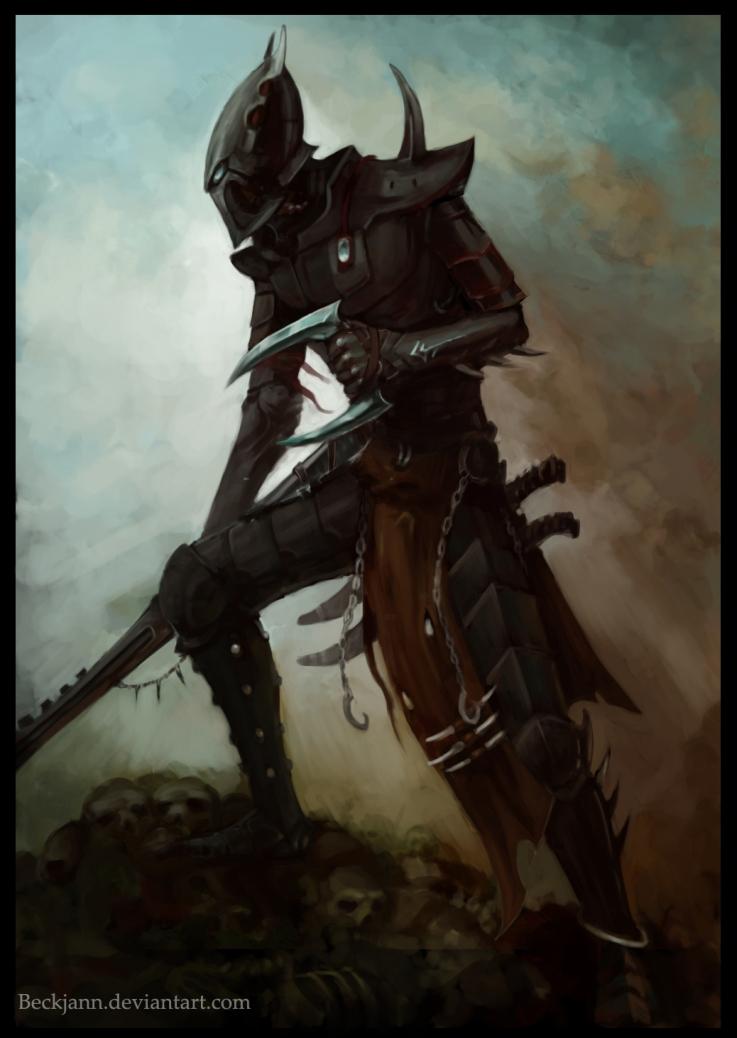 Dark Eldar: Kabalite Warrior by Beckjann
