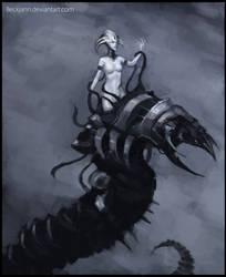 Necrons: C'tan Bailee by Beckjann