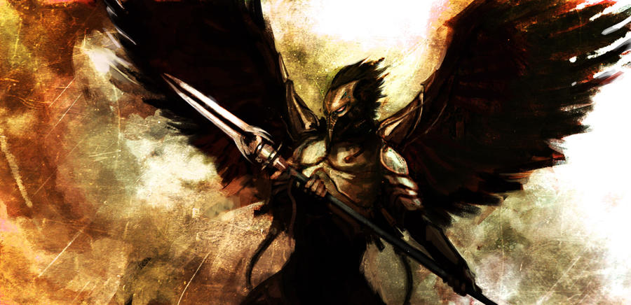 dark angel wallpaper warhammer