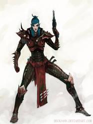 Dark Eldar: Trueborn 2 by Beckjann