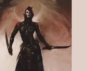 Dark Eldar: Lhamaean by Beckjann
