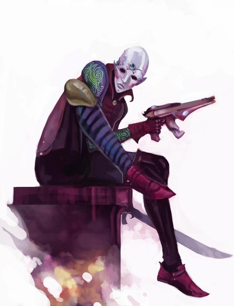 Dark Eldar x Craftworld Eldar: Harlequin