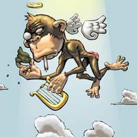 Monkey gone to Heaven by punkrockbboy