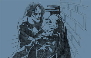 10 Free Sketches - 01 The Crow