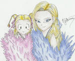 Android 18 and Marron