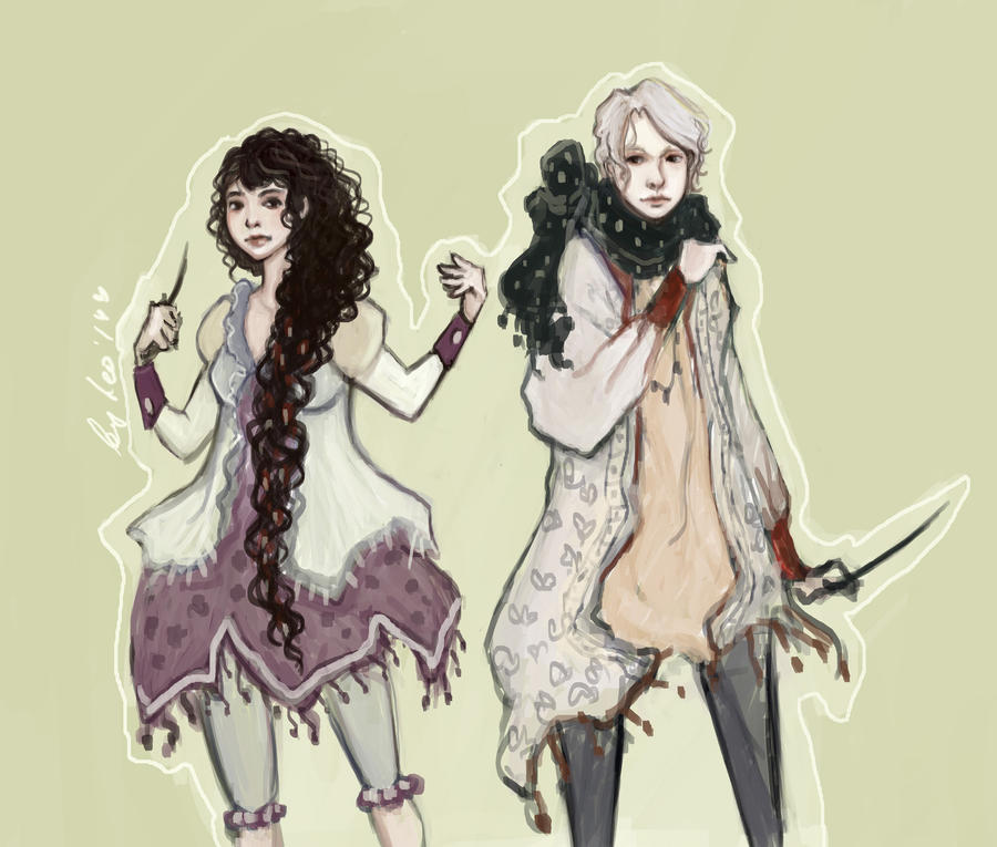 Draco and Hermione 01s by Leontopodium